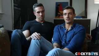 real lovers Alex Mecum & Carter Dane fucking at Cocky Boys