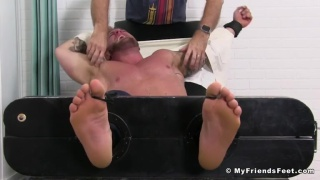 Gavin W's tickling experience at My Friends Feet