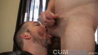Thick-Cock, Thick-Load Swallowed at CumClub.com