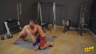 Sean Cody's Daniel fucking Cam in the gym