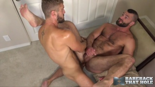 sexy bearded men fucking one another raw