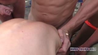 Bottom boy slut at Hung Young Brit