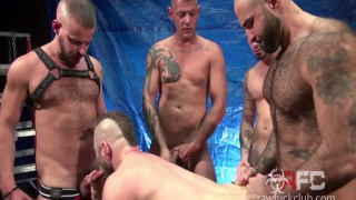 Aiden Hart Gang Bang (Part 1) at Raw Fuck Club