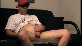 Straight construction worker jacks his cock at Str8 Boyz Seduced