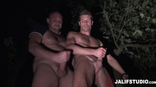outdoor sex with Picwik & Thierry Master at jalif studio