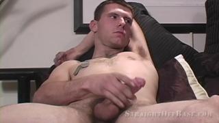 former marine jacks his 7-inch cock