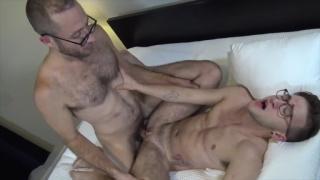 trans guy Ari Koyote bottoms for Joel somone at Jock Pussy