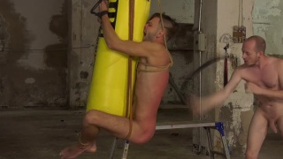 BDSM sex with Sean Taylor fucking Dante Lucas at Boynapped