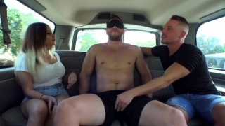 car sex with Ashton mckay getting blowjob at Str8 Chaser