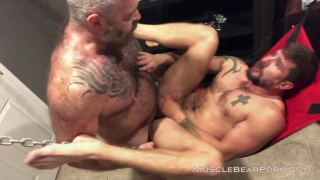 daddy will angell fills sean mayger's ass with jizz