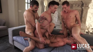 SWEATY ALL-STAR ORGY with allen king