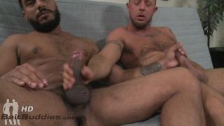 Jordan Michaels sucks some straight latin cock at Bait Buddies