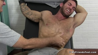 Chase Lachance's tickling at My Friends Feet