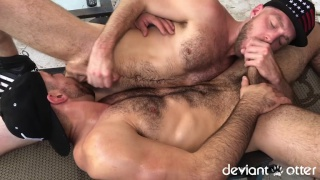 Ashland Twerk in fuck session with Deviant Otter