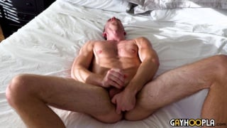Logan Piper Jacks off With a Dildo In His Ass at Gay Hoopla