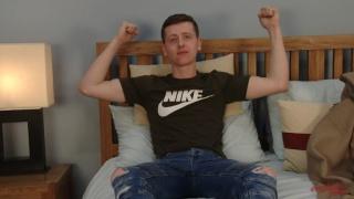 young lad Joe Appleton jacks off at English Lads