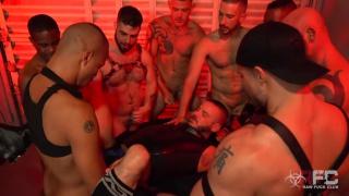 Sean Harding Gang Bang Part 2 at Raw Fuck Club with jace chambers