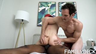 twink gets fucked by his stepdad & his baseball coach