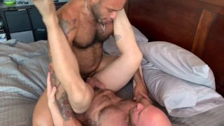 leo forte fucks bald hunk atlas