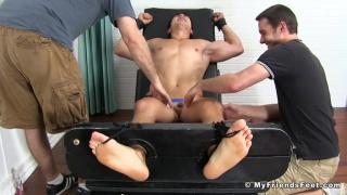 tickling Axel Kane at My Friends Feet
