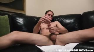 Australian guy Paul at Andy's Aussie Boys