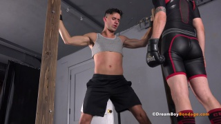 Gaydemon male bondage