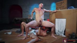 Tony Orlando fisting Brian Bonds at club inferno