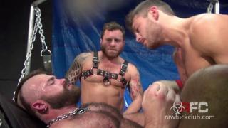 Jonah Fontana's Gang Bang Part 2 at Raw Fuck Club