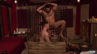 sexy Venezuelan man gets full-service treatment at spa