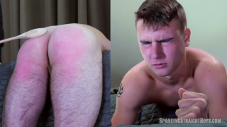 19-year-old boy gets spanked for his messy house