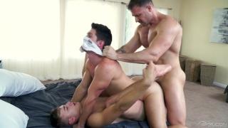 threeway sex with Austin Wolf, Zander Cole & Devin Franco at FALCON