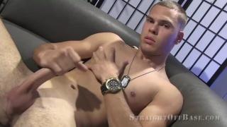 former Russian Navy Starshina Tony at Straight off base