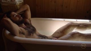 bathtub jack-off with diego sans at Him Eros