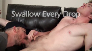 Swallow Every Drop at Cum Club