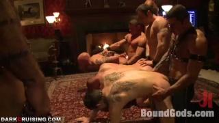 bondage and bdsm gang bang