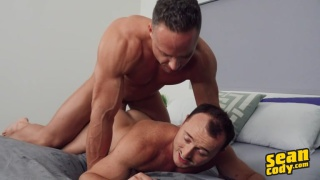 guy shoot, get hard, and fuck all over again