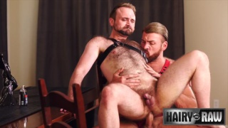 hairy man sex with Parker Logan fucking Harper Davis at Hairy & Raw