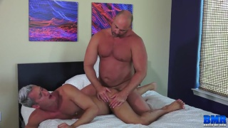 bareback sex with Tyler Reed fucking Silver Steele at Breed Me Raw