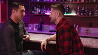 bearded guy picks up a straight guy in a bar