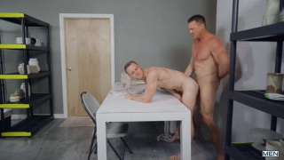 guy catches his boss fucking a sex toy