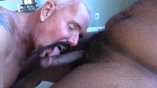 gay interracial sex in Sucking off Masked Chocolate Dick at Gloryhole Hookups