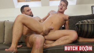 blond euro boy gets nailed by a handsome hunk