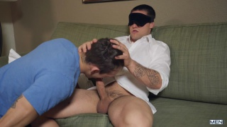 never let anyone blindfold you before they offer you oral sex