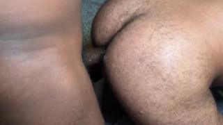 after sucking this nice cock, it goes in his beefy ass