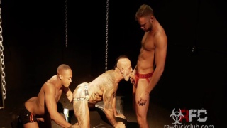 trent king & Wade wolfgar fuck bo bangor at Raw Fuck Club