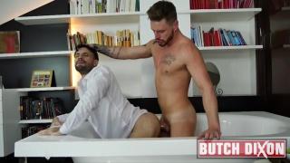 Josh Moore fucking Flex at Butch Dixon
