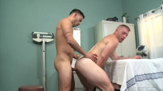 doctor fuck buddies Cesar Rossi and Scott Riley at Pride Studios
