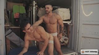 Arad Winwin's first bareback fucking scene at Hot House