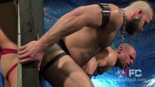 Jonah Fontana's Gang Banged by six men at Raw Fuck Club