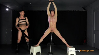 ballet boy gets flogged by his master